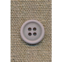 4-huls knap lys lyselilla 15 mm.-20
