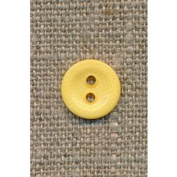 2-huls knap gul 12 mm.-20