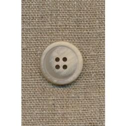 4-huls knap sand meleret, 20 mm.-20