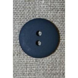2-huls knap mørkeblå 18 mm.-20