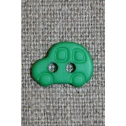 2-huls knap m/bil, grøn-20