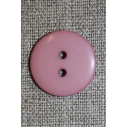 2-huls knap gl.rosa, 20 mm.-20