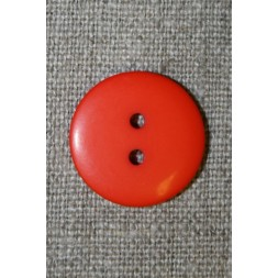 2-huls knap orange, 20 mm.-20