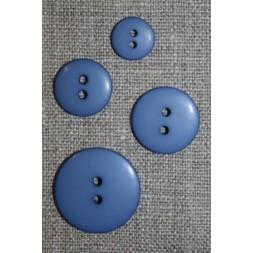 2-huls knap i støvet blå i 4 str.-20
