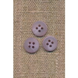 4-huls knap lyselilla meleret, 11 mm.-20