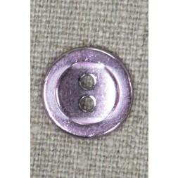 2-huls knap i metal i rosa-20