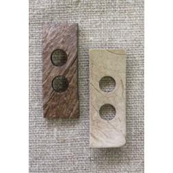 Aflang Kokosknap 42x15 mm.-20