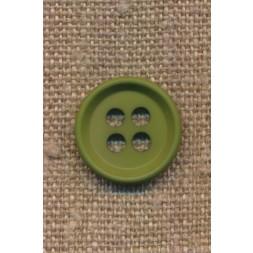 4-huls knap i grøn 18 mm.-20