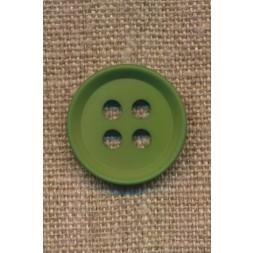 4-huls knap i grøn 23 mm.-20
