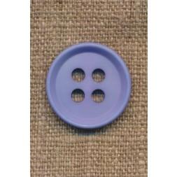 4-huls knap i lys blå 23 mm.-20