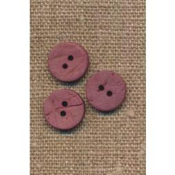 Kokos knap i mørk rosa 12 mm.-20