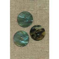 Perlemors-knap lys grøn 23 mm.-20