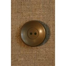 Grå-brun knap 22 mm-20