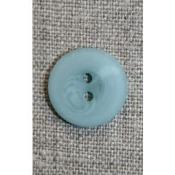 Aqua 2-huls knap, 23 mm.-20