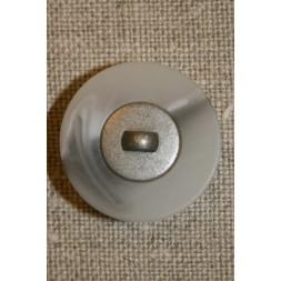 Lysegrå m/sølv midte 23 mm.-20
