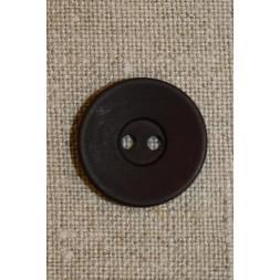 Bordeaux 2-huls knap 20 mm.-20