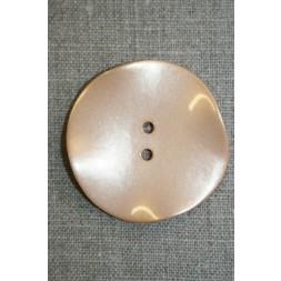 Skæv knap, pudder, 44 mm.-20