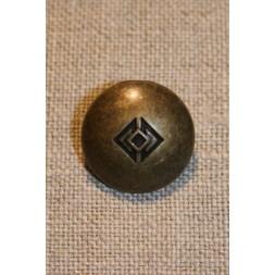 Gl.guld knap 18 mm.-20