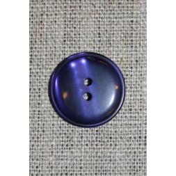 Mørkelilla 2-huls knap, 22 mm.-20