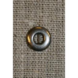 Sølvknap 12 mm.-20