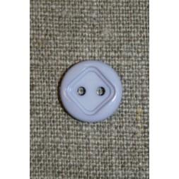 2-huls knap m/firkant, baby-lyselilla-20