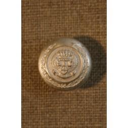Sølvknap m/våbenskjold-20