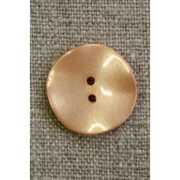 Skæv knap, pudder, 20 mm.-20