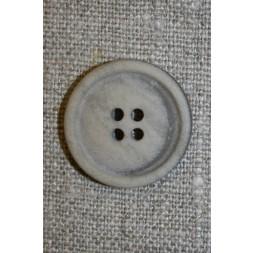 Sand meleret 4-huls knap, 17 mm.-20