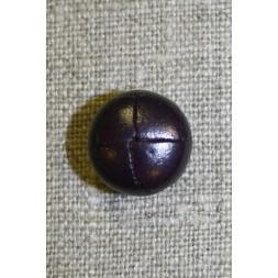 Læder-look knap mørk lilla-20