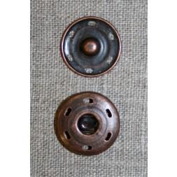 Tryklås 21 mm, gl.kobber-20