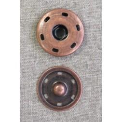 Tryklås 30 mm, gl. kobber-20