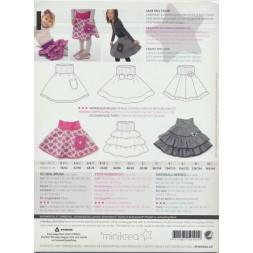 50101 Minikrea Cirkel nederdel str. 0-10 år.-20