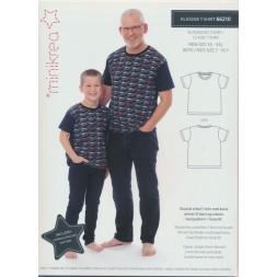66210 Minikrea Klassisk T-shirt til dreng/herre-20