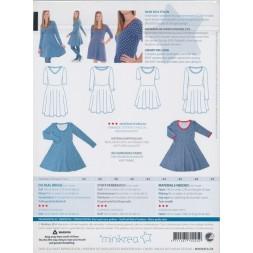 70045 Minikrea Jersey kjole voksne-20