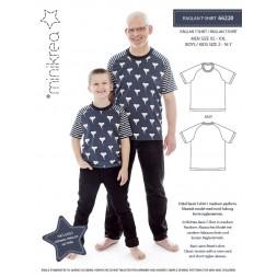 66220 Minikrea Raglan T-shirt til dreng/herre-20