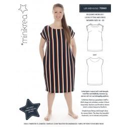 70060 Minikrea Løs midi kjole-20