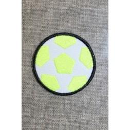 Fodbold neon gul/hvid/sort-20