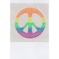 Neon mærke m/peace-20