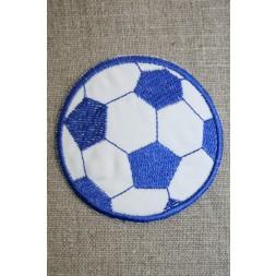 Fodbold blå/hvid, stor-20