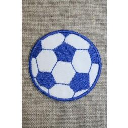 Fodbold blå/hvid, mellem-20