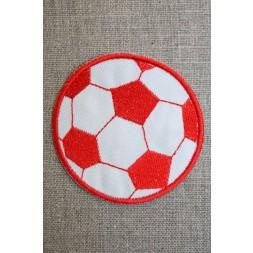 Fodbold rød/hvid, stor-20