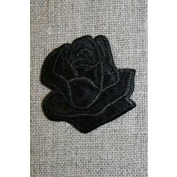 Motiv m/rose, sort-20