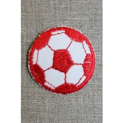 Fodbold rød/hvid, lille-20