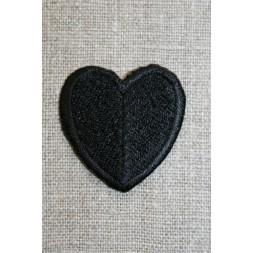 Hjerte sort-20