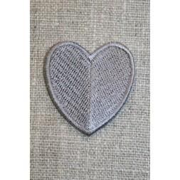 Hjerte grå-20