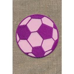 Fodbold lyserød/cerisse, stor-20