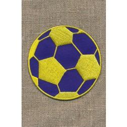 Fodbold gul/blå, stor-20