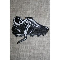 Fodboldstøvle sort/hvid-20