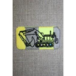Motiv m/gravko grå/neon gul-20