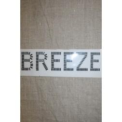 """Strygemærke aflange nitter """"Breeze"""", sort-20"""